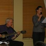 Steven Gray and Sarah Page perform on April 6th, 2011