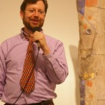 Host Dr. Andy Jones opens Poetry Night, April 21st, 2011