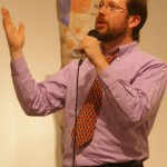 Host Dr. Andy Jones opens Poetry Night, April 21st 2011