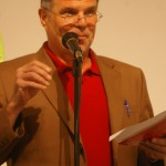 Producer Brad Henderson reads on April 21st, 2011