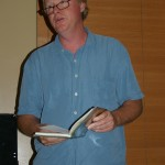 Greg Glazner reads on May 4th, 2011