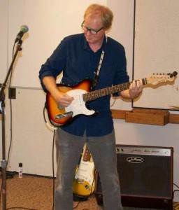 Greg Glazner with Guitar
