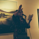 Jesse Loren reads at the John Natsoulas Gallery on September 1st
