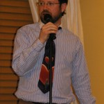 Dr. Andy Jones opens Poetry Night, April 6th 2011