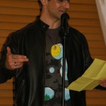 Wesley Sughrue reads on April 6th, 2011