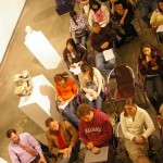 Audience at the John Natsoulas Gallery, April 21st 2011