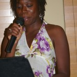 Kenya Mitchell reads on May 4th, 2011