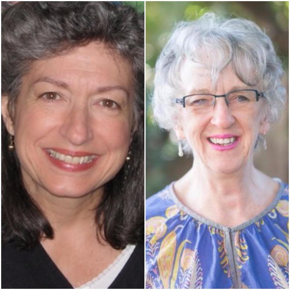 Susan Kelly-DeWitt and Mary Barbara Moore